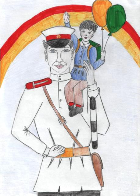 Раскраска дяди степы милиционера
