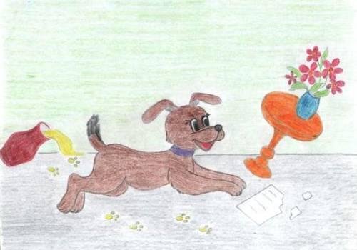 Нарисовать рисунок по михалкову