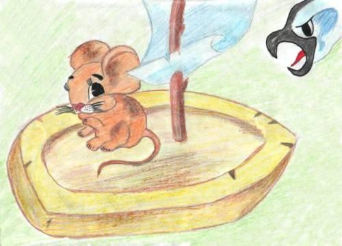 Рисунки из рассказа мышонок пик